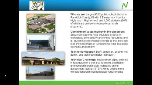 Provide a classroom Windows desktop experience at a fraction of the cost of PCs or VDI