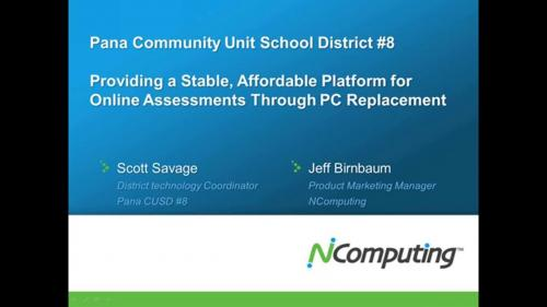 Providing a Stable, Affordable Platform for Online Assessments